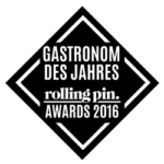 Rolling Pin Awards 2016 - Gastronom des Jahres