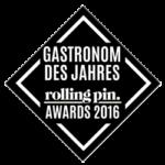 Rolling Pin Awards 2016 - Gastronom des Jahres