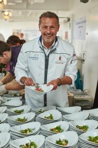 Karlheinz Hauser auf der MS EUROPA 2015