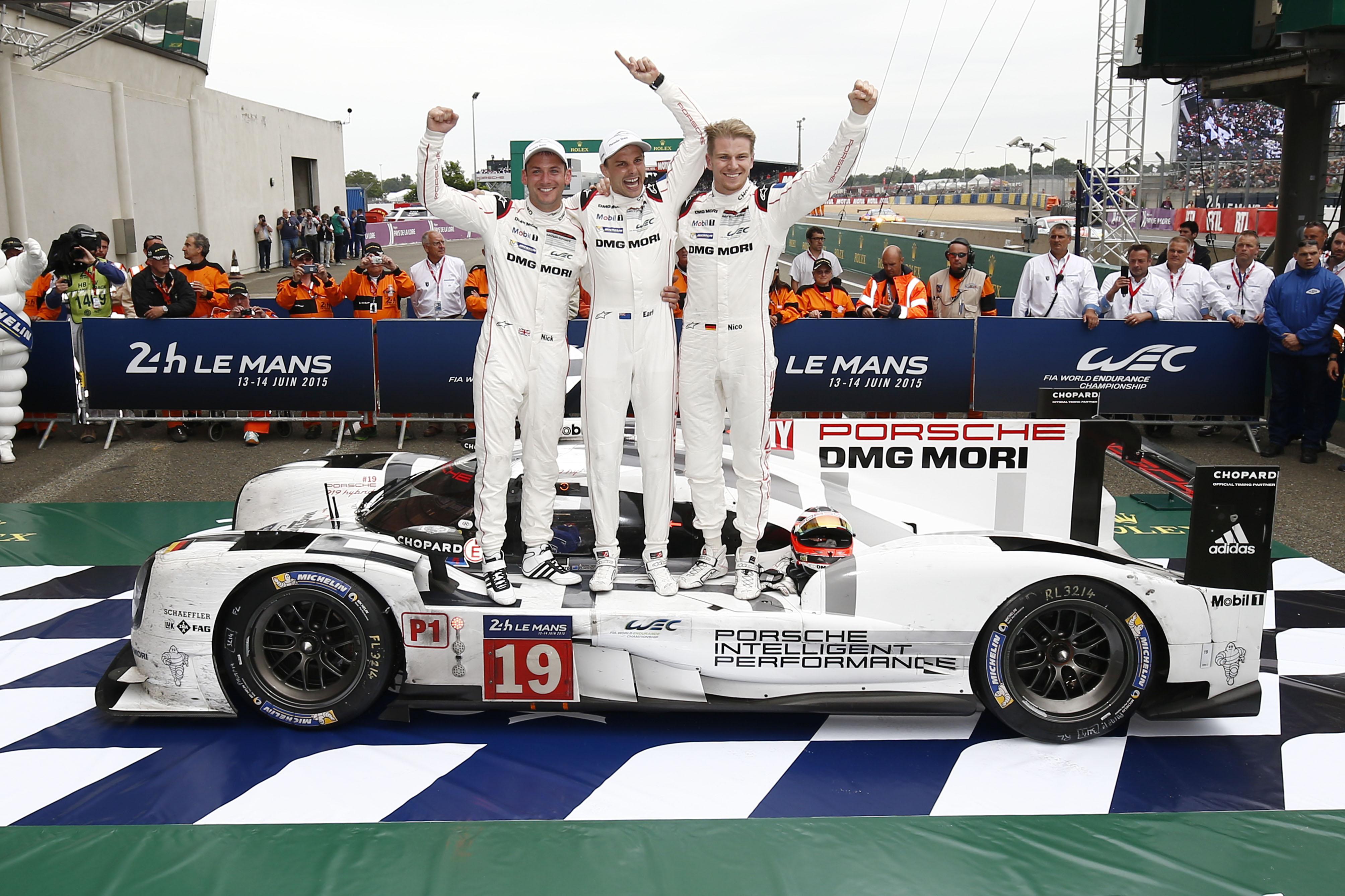 FIA WEC 2015: 24 Heures du Mans