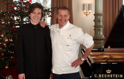 Weihnachtsmatinee 2014 Karlheinz Hauser und Amadeus Wiesensee