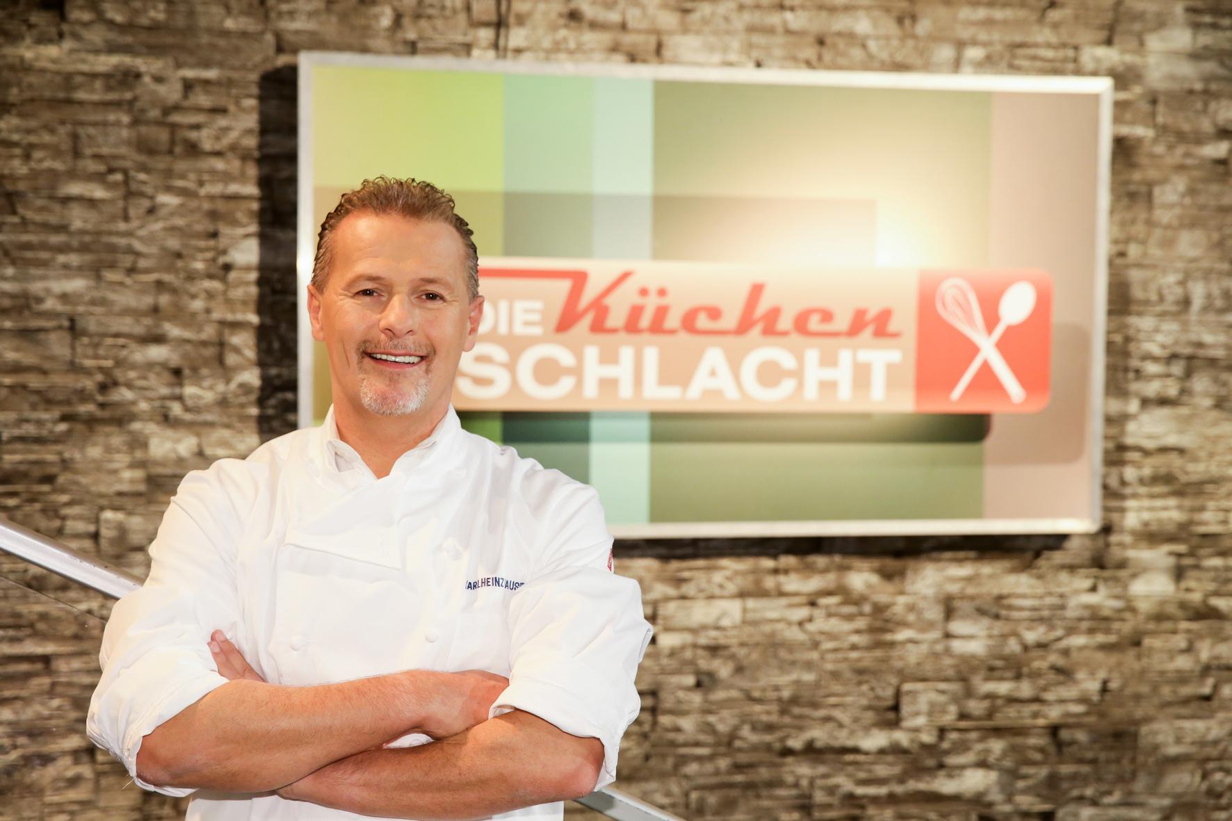 Karlheinz Hauser ist Juror bei der Küchenschlacht
