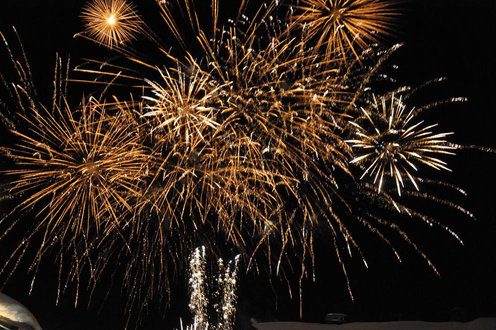 Feuerwerk katschberg