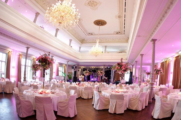 Hochzeit im Ballsaal