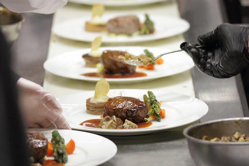 Gourmet Catering von Karlheinz Hauser