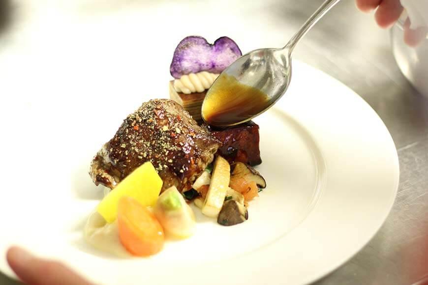 Fleisch Gericht - Gourmet Catering von Karlheinz Hauser