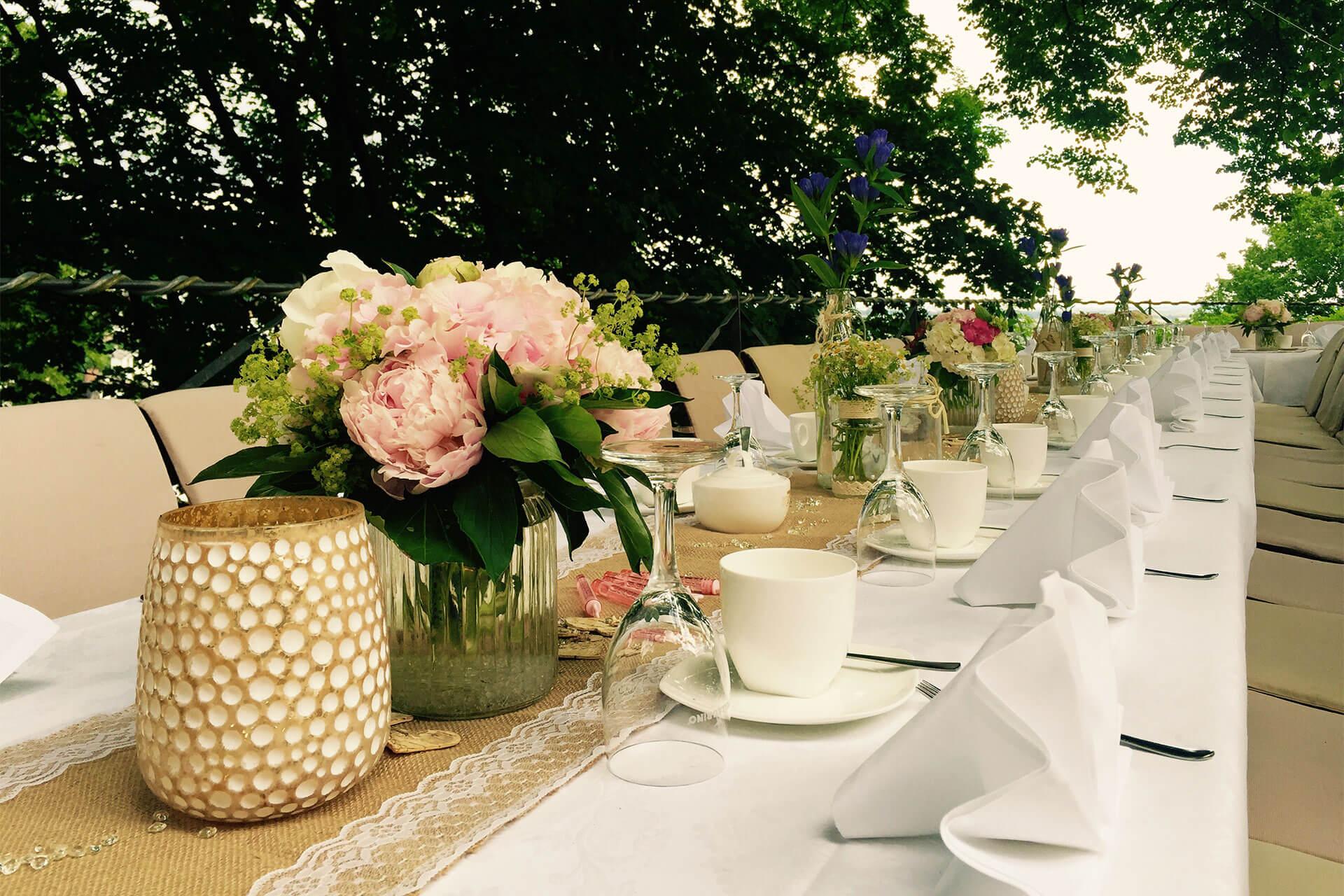 Hochzeits Catering <br>in Hamburg